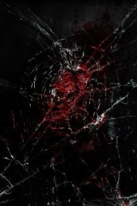 血しぶきなiPhone壁紙×2枚